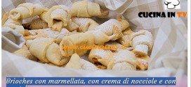 Bake Off Italia: ricetta Brioches con marmellata crema di nocciole e wustel di Riccardo