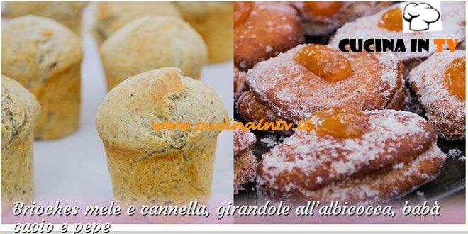 Bake Off Italia: ricetta Brioches mele cannella e girandole all'albicocca babà cacio e pepe di Giacomo