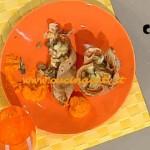 La Prova del Cuoco - Cestini di crêpes integrali ai funghi e crema di carote