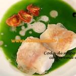 La Prova del Cuoco - Coda di rospo al guanciale con crema di bietoline ricetta Bottega