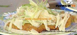 La Prova del Cuoco - Costolette di vitello al sedano ricetta Barzetti
