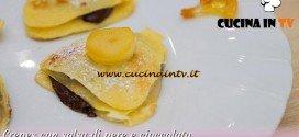 Bake Off Italia 2: ricetta Crepes con salsa di pere e cioccolato di Enrica