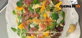 La Prova del Cuoco - Insalata di fichi pannerone e uva ricetta Barzetti