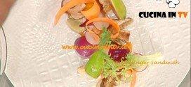 La Prova del Cuoco - Insalata di pesche e porcini ricetta Ribaldone
