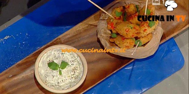 La Prova del Cuoco - Keftedes con salsa labneh ricetta Mainardi