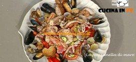 La Prova del Cuoco - Panzanella di mare ricetta Marchiani