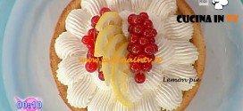 Dolci dopo il tiggì - ricetta della Lemon pie