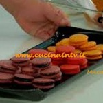 Ricetta Macarons di Renato Ardovino per il programma Torte in corso su Real Time