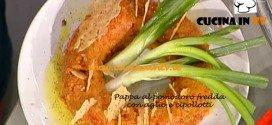 La Prova del cuoco - Pappa al pomodoro fredda con aglio e cipollotti ricetta Anna Moroni