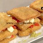 La Prova del Cuoco - ricetta Parmigiana con mozzarella in salsa di acciughe e mandorle