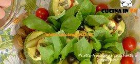 La Prova del Cuoco - Piatto freddo di zucchette e pomidoro ricetta Messeri