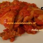 Cotto e Mangiato - Pollo ai peperoni ricetta Tessa Gelisio