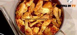 La Prova del Cuoco - Pollo alla cacciatora con teglia di patate al forno ricetta Cattelani