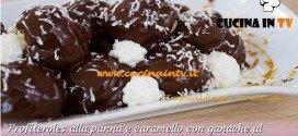 Bake Off Italia: ricetta Profiteroles alla panna e caramello con ganache al cioccolato di Antonio
