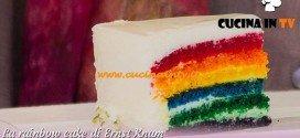 Bake Off Italia - ricetta Rainbow cake di Ernst Knam