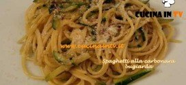 Cotto e Mangiato - Spaghetti alla carbonara bugiarda ricetta Tessa Gelisio