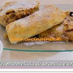 Bake Off Italia: ricetta Strudel di mele marmellata di arancia e crema alla vaniglia di Antonio