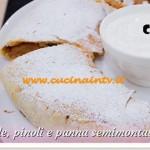 Bake Off Italia: ricetta Strudel di mele pinoli e panna semimontata alla cannella di Stefano