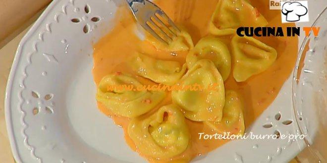 La Prova del Cuoco - Tortelloni burro e oro ricetta Spisni