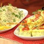La Prova del Cuoco - Tortine di frittata con zucchine feta menta e cous cous verde ricetta Cattelani