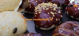Bake Off Italia 2 - ricetta Bagel salmone, lattuga e lime e bagel glassati al cioccolato di Federico