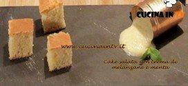 Masterchef 3 - Cake salata con crema di melanzane e menta ricetta Ilenia