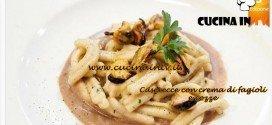 Masterchef 3 - Caserecce con crema di fagioli e cozze ricetta Michele