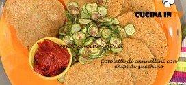 La Prova del Cuoco - Cotolette di cannellini con chips di zucchine ricetta Bianchi