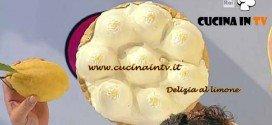Dolci dopo il Tiggì - ricetta Delizia al limone