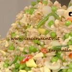 La Prova del Cuoco - Farro alla cantonese ricetta Cattelani