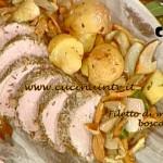 La Prova del Cuoco - Filetto di maiale alla boscaiola ricetta Barzetti