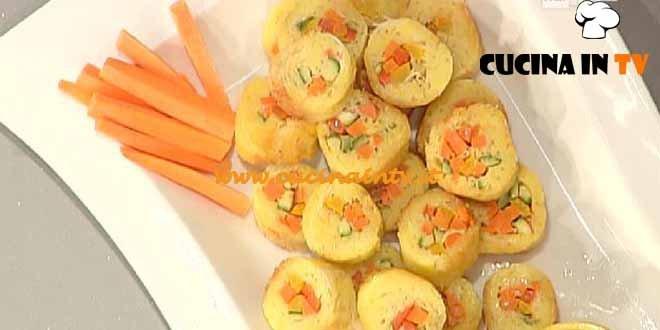 La Prova del Cuoco - Finto sushi con spaghetti di riso e verdure ricetta Cattelani