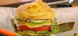 La Prova del Cuoco - Fiori di patate con zucchine e caciocavallo ricetta Barzetti