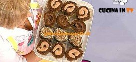 Dolci dopo il Tiggì - ricetta Girandole al cioccolato