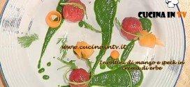 La Prova del Cuoco - Involtini di manzo e speck in crema di erbe ricetta Ribaldone