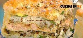 La Prova del Cuoco - Torta rustica russa kulebyaka ricetta Mainardi
