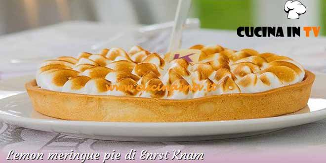 Bake Off Italia 2 - ricetta Lemon meringue pie di Ernst Knam