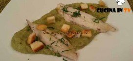 Cotto e Mangiato - Nasello al vapore su crema di broccoli ricetta Tessa Gelisio