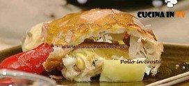 La Prova del Cuoco - Pollo in crosta ricetta Bonci