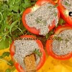 La Prova del Cuoco - Pomodori ripieni con mousse di tofu acciughe e timo ricetta Bianchi