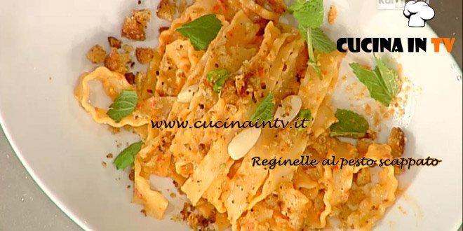 La Prova del Cuoco - Reginelle al pesto scappato ricetta Messeri
