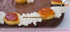 Bake Off Italia 2: ricetta Saint Honorè con frolla al cacao e crema al cioccolato di Erika