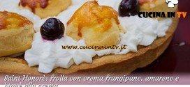 Bake Off Italia 2: ricetta Saint Honorè con crema frangipane e bignè alla crema di Claudio