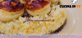 Bake Off Italia 2: ricetta Saint Honorè con crema al cioccolato e bigné con glassa al caramello di Giacomo