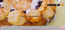 Bake Off Italia 2: ricetta Saint Honorè con crema chantilly e bignè alla crema di Enrica