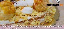 Bake Off Italia 2: ricetta Saint Honoré con crema al cioccolato e crema chantilly di Antonio