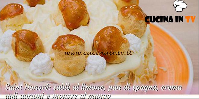 Bake Off Italia 2: ricetta Saint Honoré con crema agli agrumi e mousse al mango di Roberta
