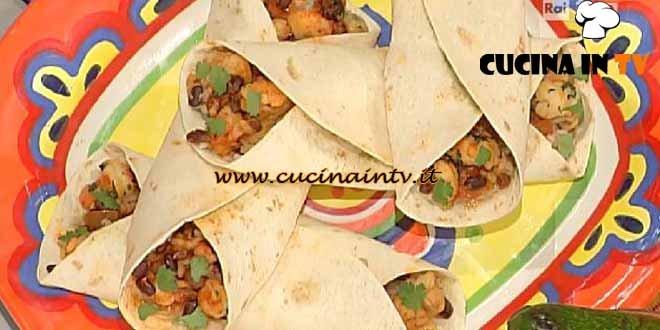 La Prova del Cuoco - Shrimp Burritos ricetta Andrea Mainardi