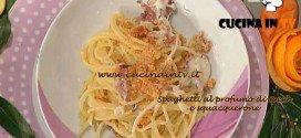La Prova del Cuoco - Spaghetti al profumo di speck e squacquerone ricetta Barzetti