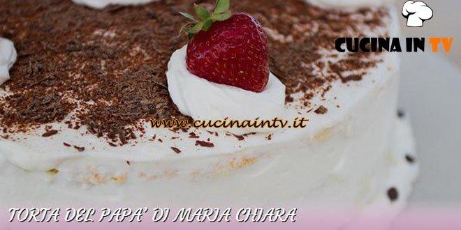 Bake Off Italia 2 - ricetta Torta del papà di Maria Chiara